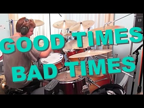 Led Zeppelin-Good Times Bad Times (Drum Cover)