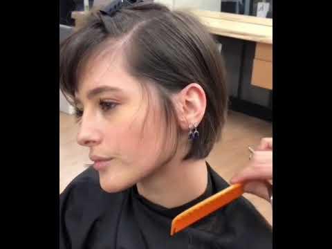 Boy Cutting Girl S Haircut Youtube