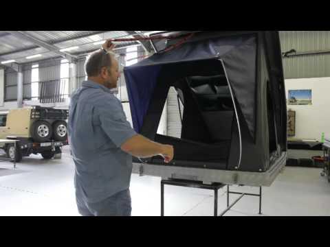 Alu-Cab's Generation 3 Expedition Flip Tent