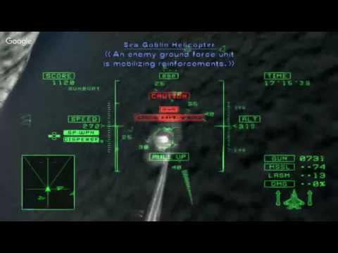 Ace Combat 5 Ace Playthrough Mission 20 Ancient Walls