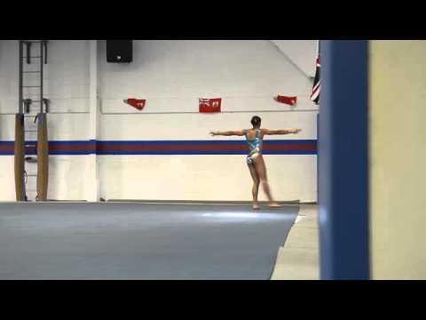 Bermuda Gymnasts Floor Routine, July 16 2013