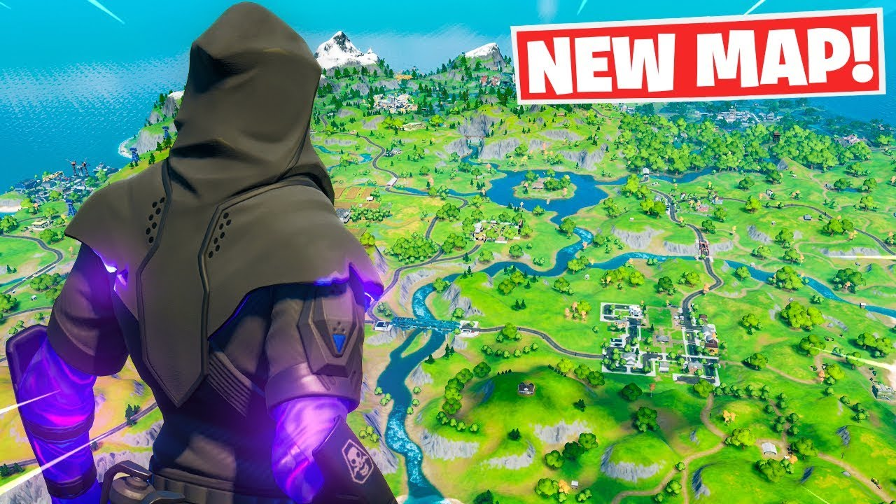 Exploring The New Map In Fortnite Chapter 2