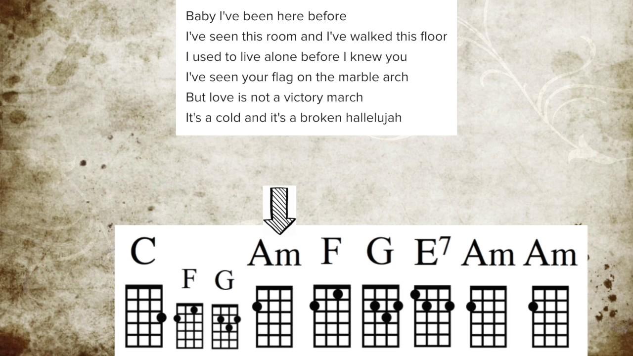 Hallelujah cohenwainwright ukulele guide youtube hallelujah cohenwainwright ukulele guide hexwebz Choice Image
