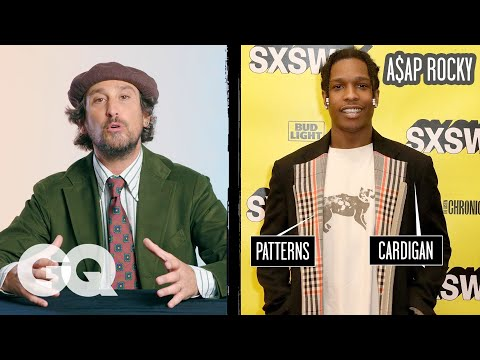 Fashion Expert Breaks Down Celebrity Suits Pt 2, From Jaden Smith To A$AP Rocky | Fine Points | GQ