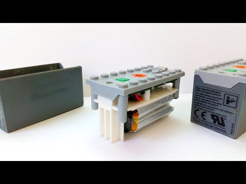 What is Inside a Lego LiPo Battery ? Power Fonction