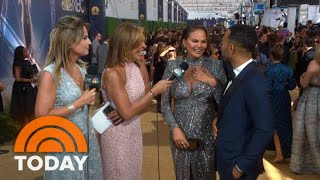 Emmys 2018: See Savannah And Hoda's Best Gold Carpet Interviews! | TODAY