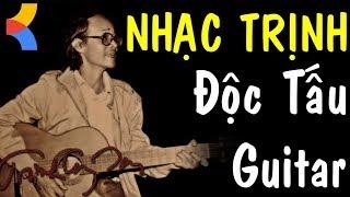 Độc Tấu Guitar Trịnh Công Sơn Nhạc Tâm Trạng Buồn ❤️ Nhạc không lời Không Quảng Cáo cho Quán Cafe
