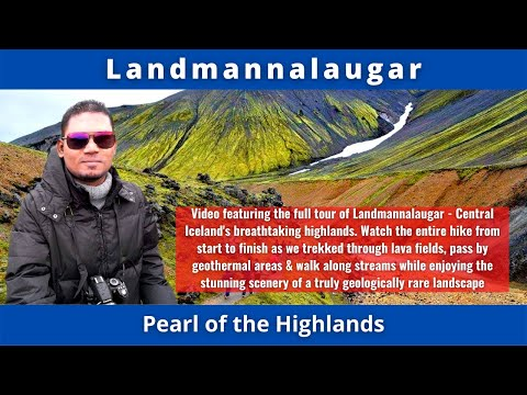 Landmannalaugar, Pearl of the Highlands, Central Iceland