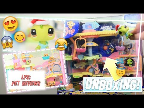 LPS: Unboxing HUGE 10 YEAR OLD SET! (2007 Round & Round Pet Town)