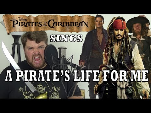 Pirates of the Caribbean Sings A Pirates Life for Me