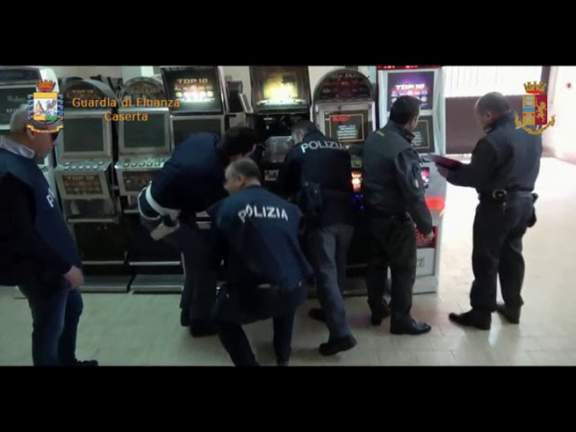 Operazione Guardia di Finanza Caserta