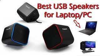 Best USB Speakers for Laptop | best budget speakers | Unboxing & Review