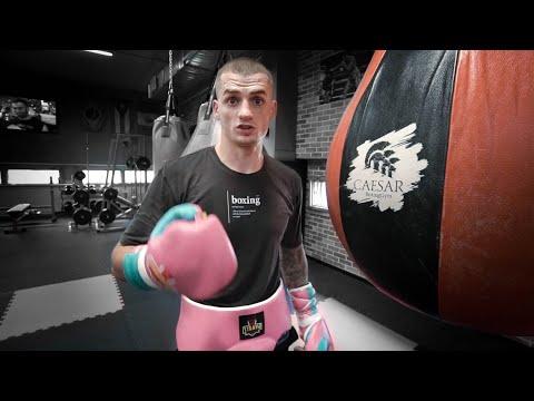 Нестандартный удар от чемпиона мира по боксу Глеба Бакши
