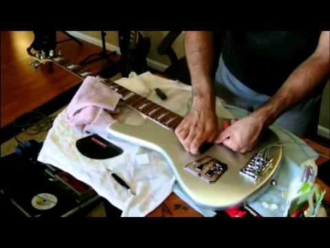 DiMarzio DP127 Split P Bass Pickups Install - YouTube