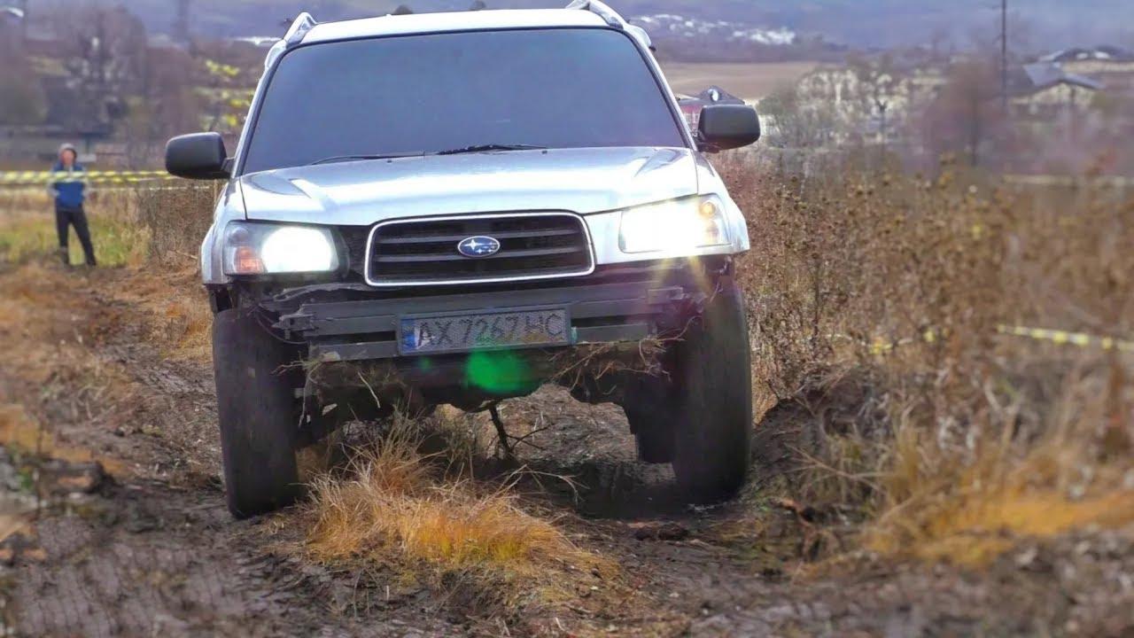 SUBARU FORESTER vs LEXUS RX 350 vs DODGE RAM 1500 на КОЛЬЦЕ