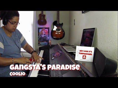 Coolio- Gangsta's Paradise (Piano Cover) w/SHEET MUSIC