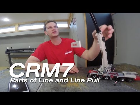 Crane Rental Minute 7 - Parts of Line