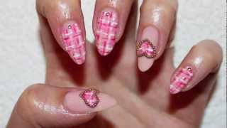 Cute Tweed Nails