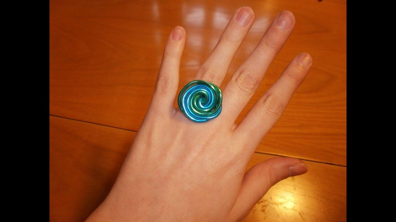 Cmo hacer un anillo de dos colores con alambre facilisimocom