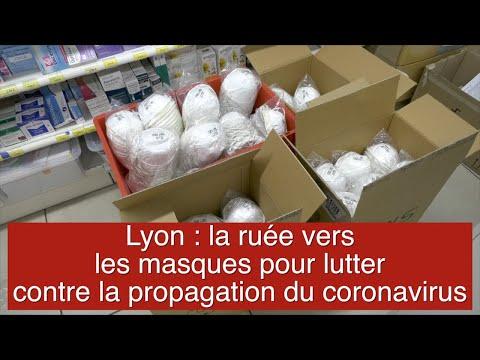 Lyon: la ruée vers les masques pour lutter contre la propagation du coronavirus