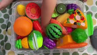 베란다 34개월 아기 과일 채소 장난감 물놀이 ベランダ…