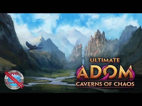 Ultimate ADOM - Caverns of Chaos Early Access Gameplay 60fps no commentary  