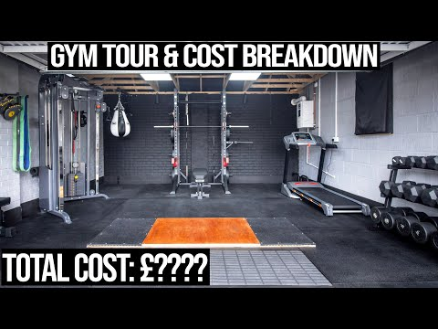 How Much Does A Home Gym Like This Cost? (FULL TOUR)