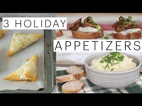 3-vegan-holiday-appetizers-artichoke-dip-vegan-spanakopita-mushroom-crostini-the-edgy-veg