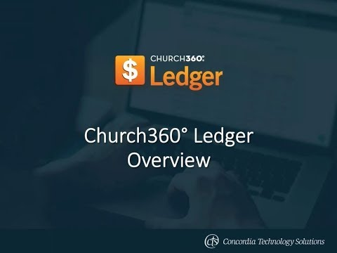 Church360° Ledger—Overview Webinar