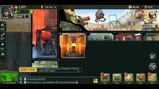 Wasteland Lords (by Longcheng Ltd.) - strategy game for android and iOS - gameplay.