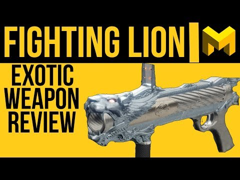 Fighting Lion Exotic Weapon Review: Destiny 2 Energy Grenade Launcher