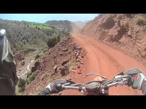 Morocco Atlas Mountains Enduro Tour Day 2 Highlights