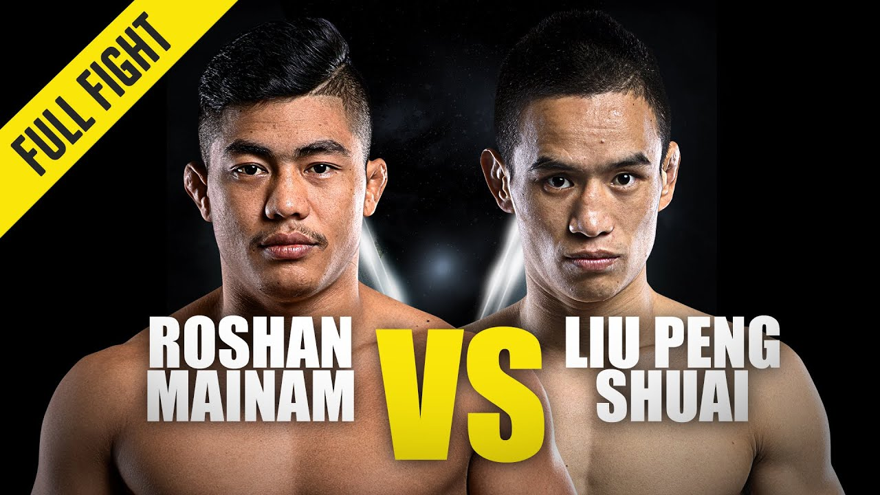 Roshan Mainam vs. Liu Peng Shuai | ONE Championship Full Fight