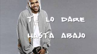 Take you down- Chris Brown(Español)