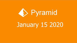 Microsoft Solitaire Collection - Pyramid - January 15 2020