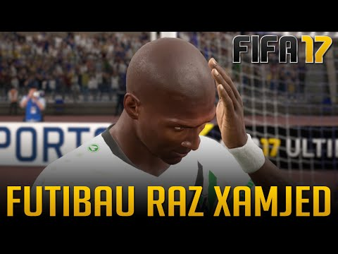 GOL CONTRA BIZARRO NO FIFA 17 - FUTIBAU RAZ XAMJED