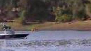 Fast V-drive Boat