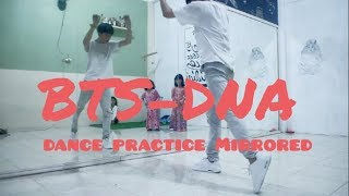 BTS (방탄소년단) 'DNA' |Mirrored Dance Practice | choreography by gatot mangky