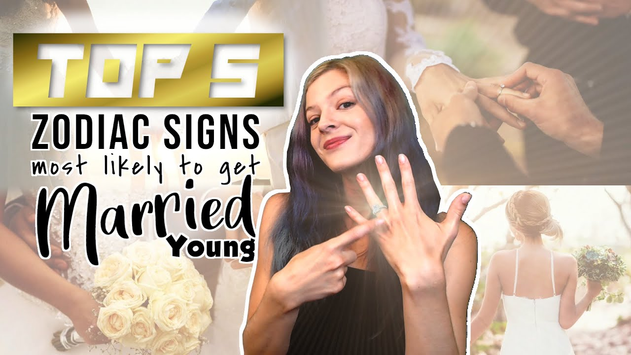 5 Zodiac Signs Likely To Marry Young