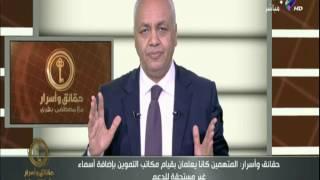 حقائق واسرار مع مصطفى بكرى | الحلقة الكاملة 3-8-2017