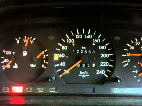 Mercedes E220 M111 engine problem/cold start
