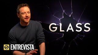 GLASS | Entrevista a James McAvoy, Samuel L  Jackson y Sarah Paulson
