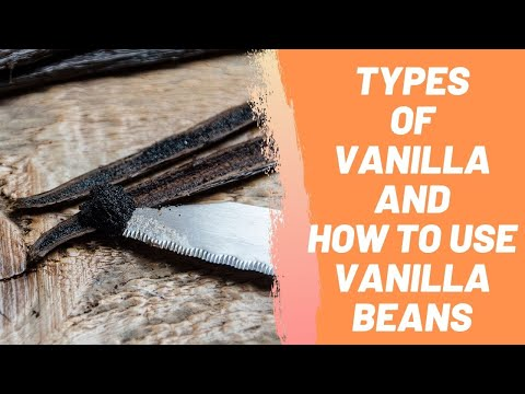 Types Of Vanilla And How To Use Vanilla Beans