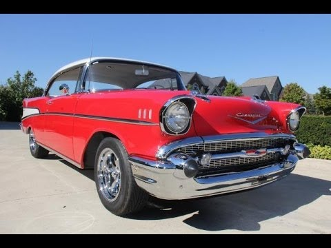 1957 Chevy 210 Hardtop Test Drive Classic Muscle Car For