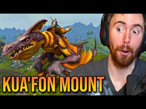 Asmongold Finally Completes The Kua'fon Mount Questline