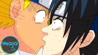 Top 10 Awkward First Kisses in Anime