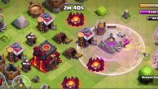 Clash Of Clans   IMMORTAL MINER!! 1 miner vs  TH10 Premature