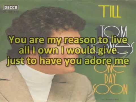 Karaoke Tom Jones - Till