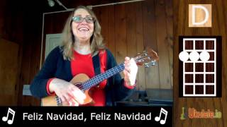 Feliz Navidad Ukulele Tutorial - 21 Songs in 6 Days: Learn Ukulele the Easy Way