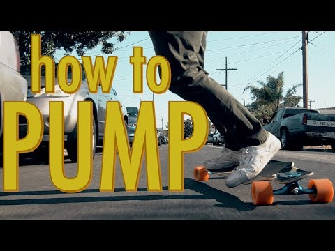HOW TO PUMP YOUR LONGBOARD | LoadedTV S2 E2